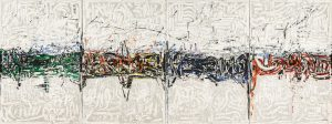 Jean-Paul RIOPELLE, Piroche, 1976, Collection Université de Sherbrooke © Succesion JP Riopelle © Adagp, Paris 2018